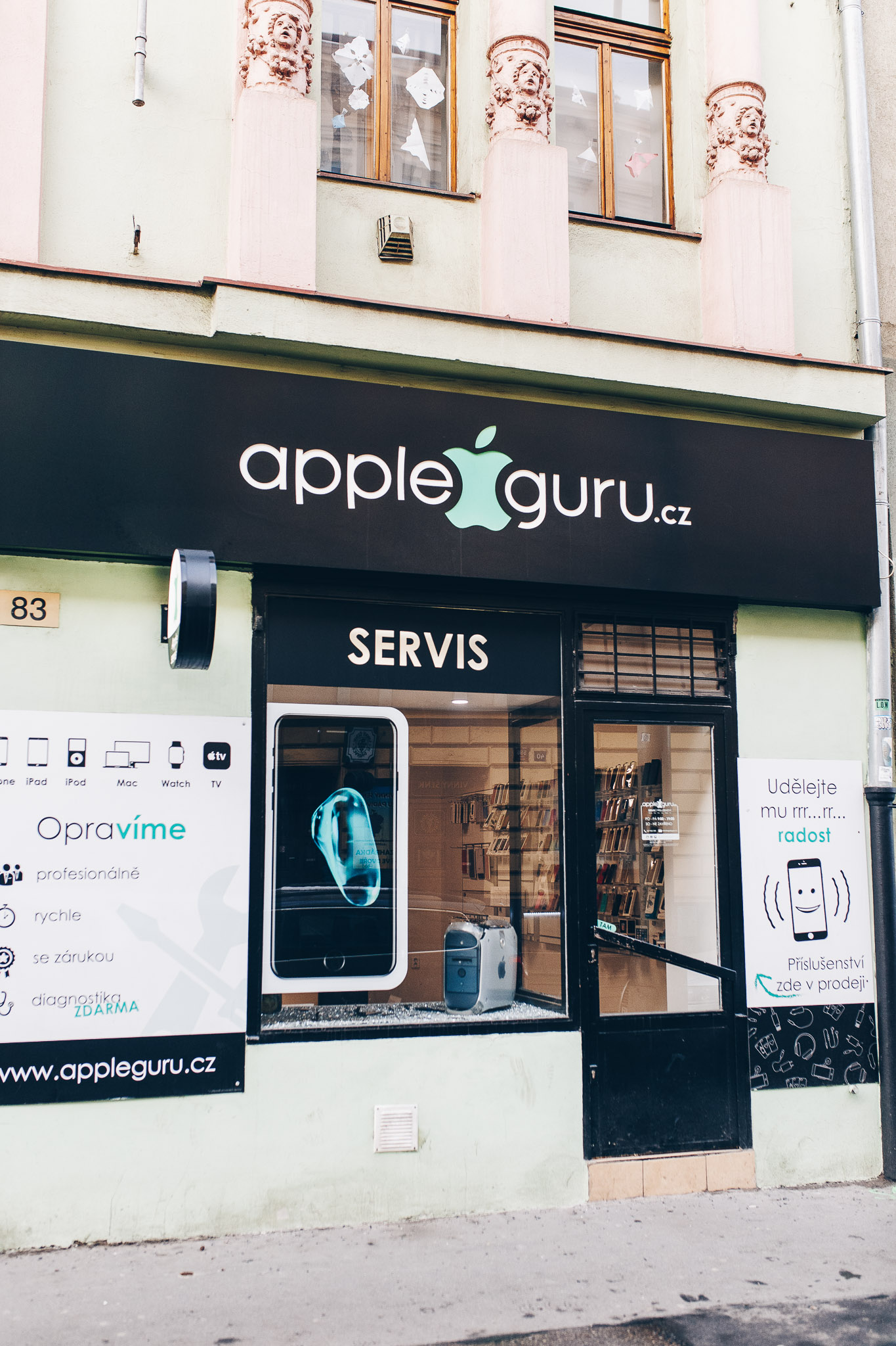 Appleguru servis pro MacBook