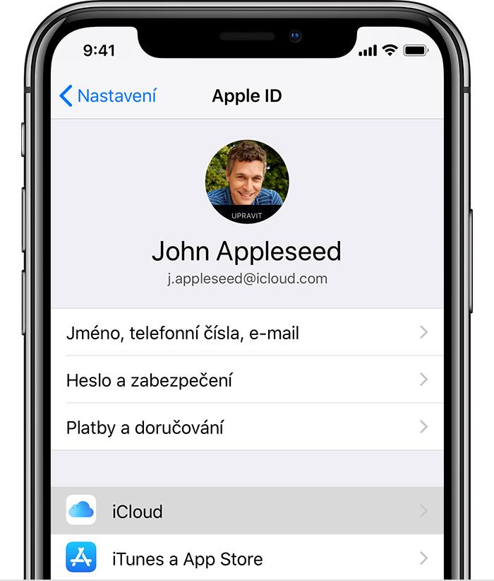iphone apple ID icloud mobil