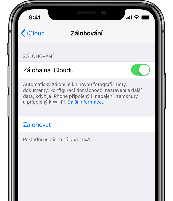 iphone mobil menu
