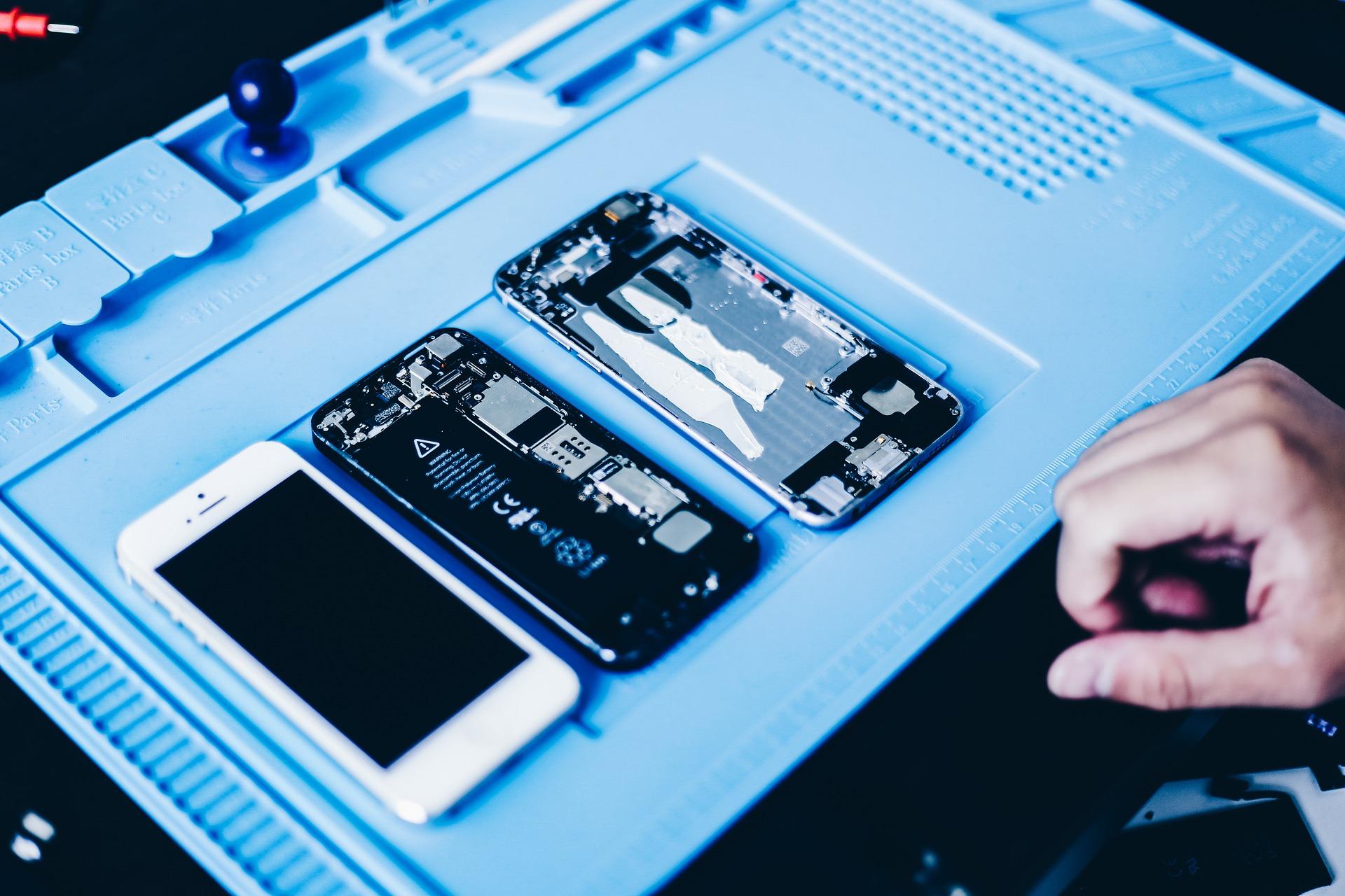 oprava a výměna iphone baterie
