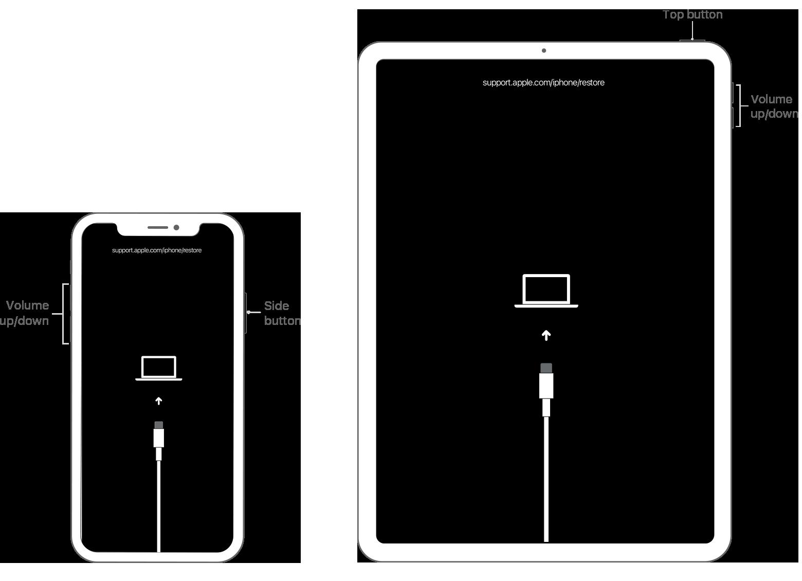 iphone a ipad restore